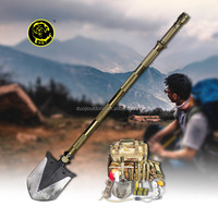Discount Military Gear store/Outdoor Multifunction Shovel ,saw,flashlight