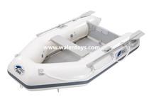 pvc material del casco y la certificación ce barco inflable del pvc