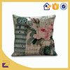 Square Polyester Printed Pillow Cases Cushion Covers 18x18 Inch