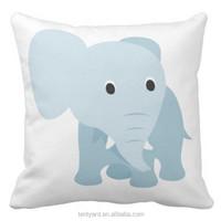 soft cute decorative throw sofa sublimation case down cushion pillows