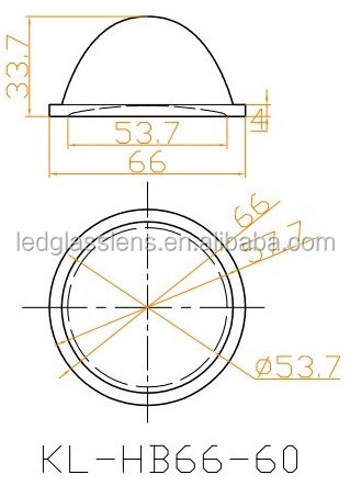 LED high bay light lens KL-HB66-60_Products_Chinaexporter.com