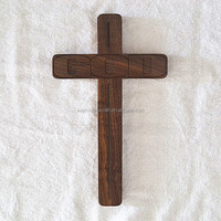 High quality solid wood cross, wholesale decorative crosses