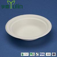 BL-40 14 oz disposable unique cheap hot soup sugarcane paper bowls