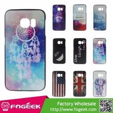 Stylish Multi Patterns Hard Plastic Case for Samsung Galaxy S6 Edge G925