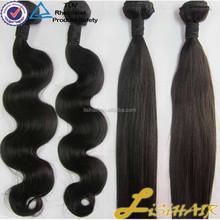 Full Cuticle Virgin human Hair in StocK virgin mongolian wet and wavy hair weave