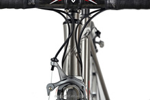Super light high performance titanium road bicycle