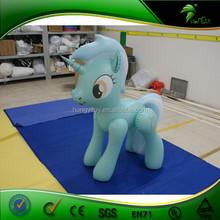 Inflatable Moving Cartoon / Inflatable Green Horse Shape Cartoon