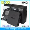 High quality tv box 1GB/8GB MXQ AMLogic S805 Android 4.4 quad core android tv box intel atom mini pc