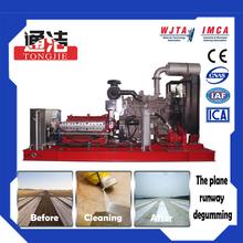 Plane Runway Degumming equipamentos de limpeza de alta pressão máquina de lavar bomba de alta pressão