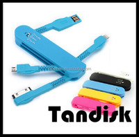 Promotional Gift Swiss Army Knife usb multi charge cable for IPhone 5/IPhone 4/Android Smartphones
