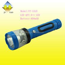 2015 emergency rechargeable led flashlight high brightness
