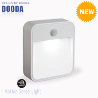 New Stick Anywhere Smart Corridor Security Battery LED Heat Sensor With Waterproof Wall Light For Home