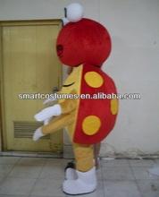 Encargo de la mariquita de la mascota del traje adulto del traje de la mariquita