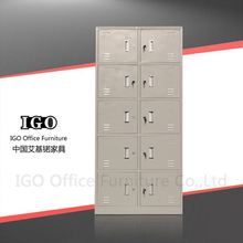 IGO-Furniture 10 doors steel locker anglo indian water closet