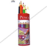 7 Inches Natural Wooden Water-soluble Color Pencil