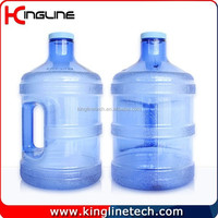 Cheap 3.8L clear plastic large water jug with handle OEM (KL-8006)