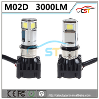 3000LM M02D Motorcycle LED Headlight CE RoHS FCC PSE approved manufacturers looking for distributors