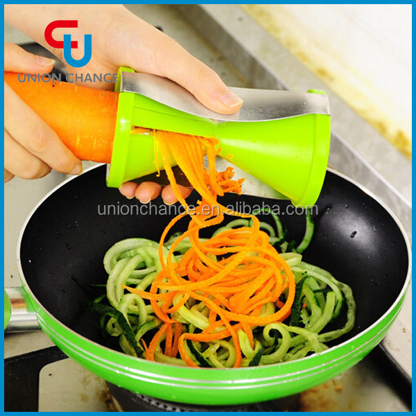 New products 2015 innovative kitchen tools spiral for Innovative kitchen utensils