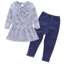 Hot sale newborn suit baby products,infant baby suit 2pcs,dress and leggings
