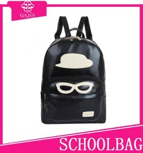 Europe and America cool backpack owl PU men and ladies new factory wholesale school backpack 2015
