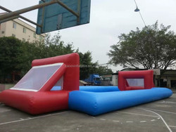 2015 hot sale inflatable football soccer sports/ outdoor inflatable football pitch,soap football for sale
