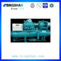 100kw Industrial Open Type Dual-stage Screw Ammonia Refrigeration Compressor