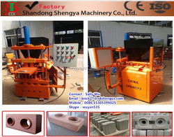 China made ISO&CE&SGS quality approved kenya soil cement interlocking brick making machine hydraulic