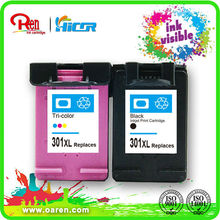 remanufactured ink cartridge for epson l800, for HP 301XL ink visible sole agent wanted