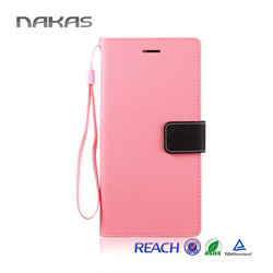 Flexible price pu leather flip case cell phone cover for iphone 6