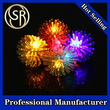 Hot selling party favor flashing finger ring led light toy