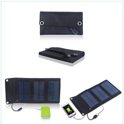 best solar folding waterproof portable 5w solar panel for mobile