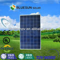 Bluesun Superventas ISO certificado poli 250w paneles solares