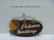 GOOD SALE Thanksgiving Decorative Wooden Wall Plaque, 2 Styles