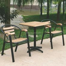 Popular ashwood outdoor garden classics wrought iron garden furniture