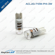 Automotive 6000K T10 194 interior auto led lamp
