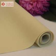Cheap 1.52 * 100 gsm Polyester Non Woven Flock Fabric For Package Lining
