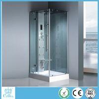 New products luxury bathroom interior decoration front door design massage mixers shower cabin