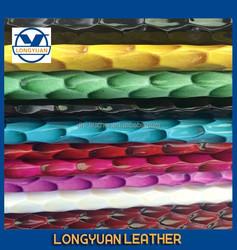 2015 China waterproof PU leather for handbags