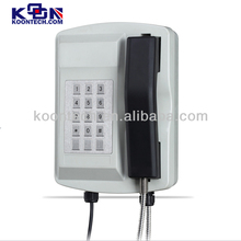 Waterproof phone KNSP-18 Security Telephones Solutions for offshore oil & gas