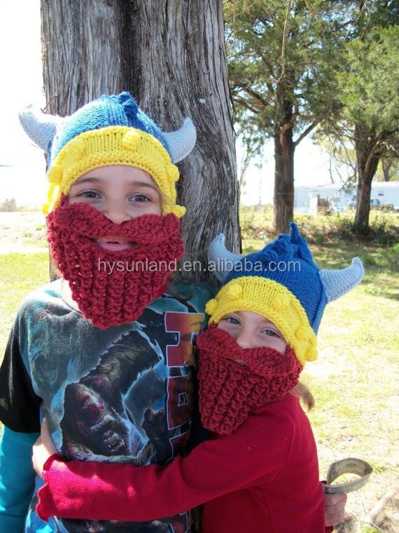 W-174 Lumberjack Knitted Beanie Crochet Baby Wild Viking ...