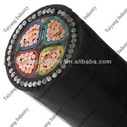 armour cable CU/PVC/SWA/PVC steel wire armor low voltage cable