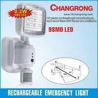 220v exit light led emergency light with ABS material for channel