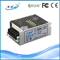 12V 36W Constant Voltage Power supply LED driver 12v 3a With CE RoHS