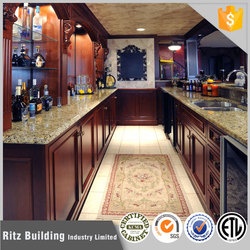 American Natural style cherry wood kitchen cabinets