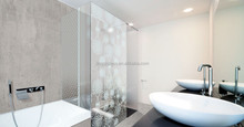 High-artistic romantic psifas design printed glass for shower room