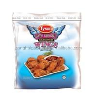 chicken wings bag/ bag for chicken wings/ plastic fried food bag