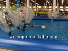 TPU Inflatable Bubble Ball / Human Bubble Ball / Roll Inside Inflatable Ball