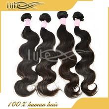 100% unprocessed human hair 6A grade Malaysian body wave hair braiding dolls