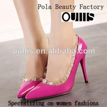 oullis fábrica de zapatos de un precio más barato de china tacones pj3072