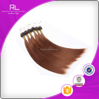 Wholesale 100 cheap remy human natural u tip hair extension
